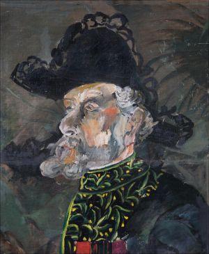 George Desvallières à l'institut