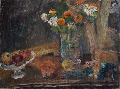 Fruits et bouquet