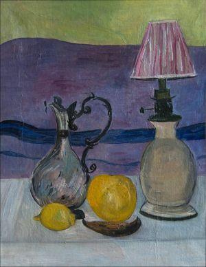 Lampe et citron