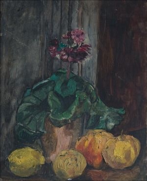 Fleurs aux pommes