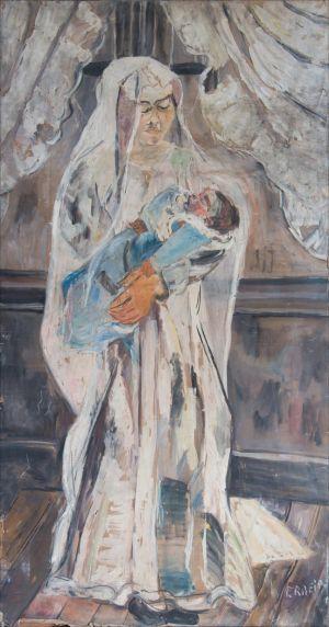 La Vierge à l'enfant  ( Salon d'automne )