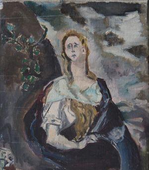 Copie de Madeleine du Gréco