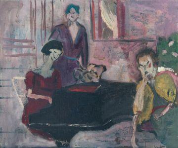 Femmes au piano