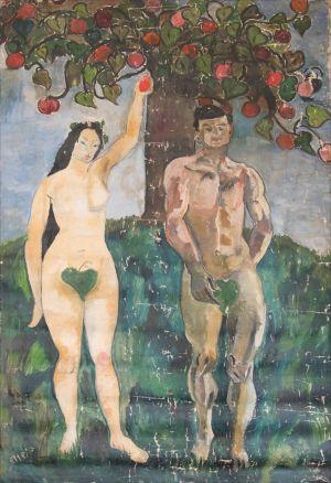 Adam et Éve  ( Salon d'automne )