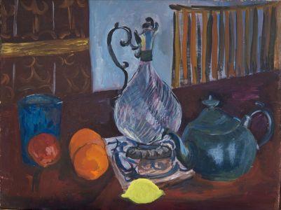 Carafe et citron